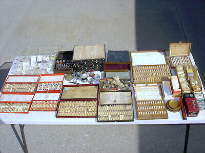 $ CDN1124.82 • Buy Vintage  Lot Of Watch Repair Parts / Tools / Bands - Some Empty Tubes