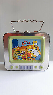 Simpsons Tv Metal Sweet Tin From 2004 • 1.50£