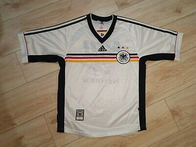 Germany Home Football Shirt Jersey Adidas Vintage Size S Adult Rare  • 9.99£