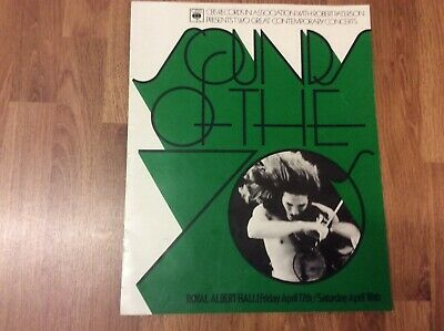 SOUNDS OF THE 70's TWO GREAT CONTEMPORARY CONCERT  PROGRAMME 1970's STEAMHAMMER • 1.99£