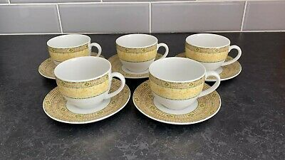 Wedgwood Home Florence Cups And Saucers X 5 • 10£