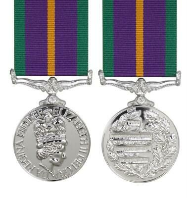 £35.17 • Buy Accumulated Campaign Service Full Size Medal Pre 2011 ( Acsm )