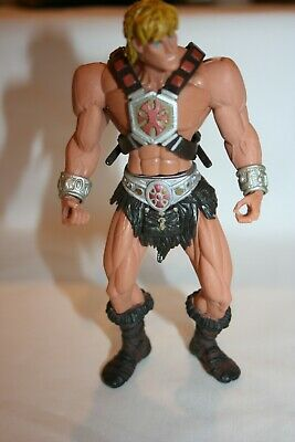 $15 • Buy 2001 Mattel MOTU Master's Of The Universe 200X He-Man Figure With Chest Harness