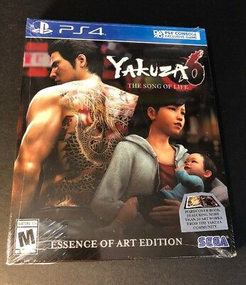 AU34.17 • Buy Yakuza 6 The Song Of Life [ Essence Of Art Edition ] (PS4) NEW