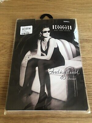 Wolford Individual 40 Denier Tights. Size Small. Coca. Brand New • 5£