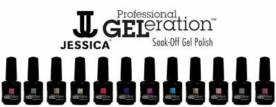 Jessica Geleration UV Gel Polish - Classic Colours - Choose Yours - 15ml Each • 12.09£