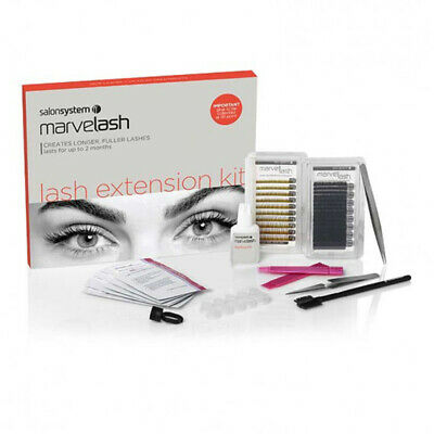 £67.93 • Buy Marvelash Semi Permanent Eyelash Extension Kit - SENSITVE GLUE