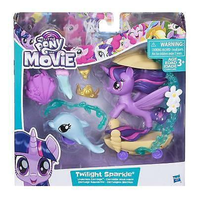 BNIB My Little Pony Movie - Twilight Sparkle Undersea Carriage • 12£
