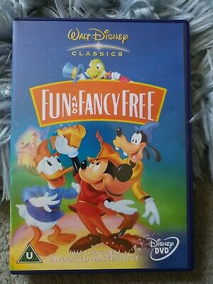 Fun And Fancy Free (DVD, 2002, Live Action / Animated) Disney Classics • 2.50£