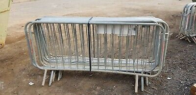 Crowd Control Barriers Used Pack Of 10 • 50£