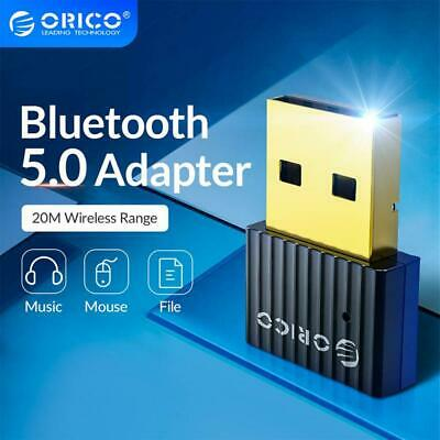AU12.99 • Buy ❤ ORICO USB Bluetooth 5.0 Adapter Dongle For Mobile/Desktop/Printer/Game Pads