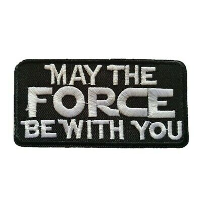 Star Wars May The Force Be With You Inspird Iron On Badge Transfer Iron On Patch • 2.39£