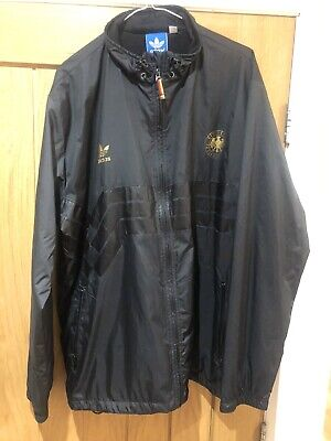 Adidas Originals Germany Deutschland Windproof Rain Jacket XL • 12.50£