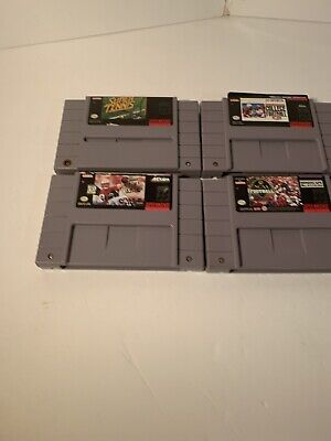 $ CDN11.10 • Buy Authentic Super Nintendo SNES Lot Of 4 Sport Games Preowned  - Game Only - NCAA