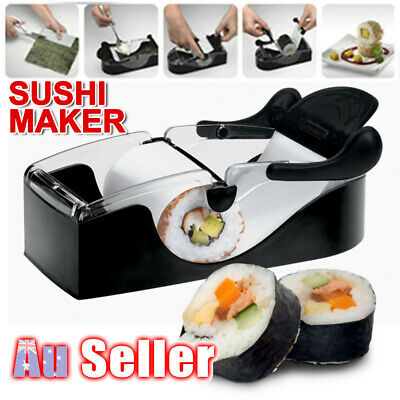 AU13.29 • Buy Sushi Maker Machine Perfect Magic Delicious Roller Gadgets Easy Roll Kitchen AU
