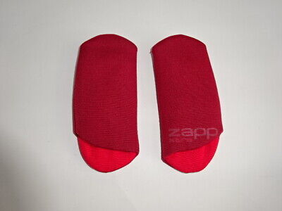 Genuine QUINNY Zapp Xtra SHOULDER/CHEST PADS For Harness/Straps Seat Unit Red • 5.99£