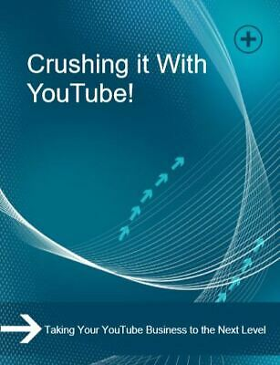 AU2.10 • Buy EBook For Crushing It With Youtube