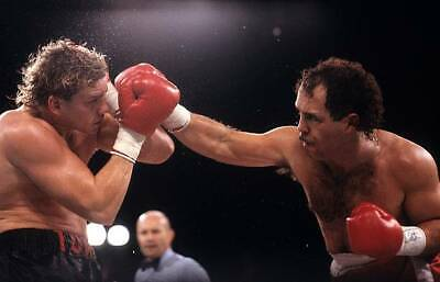 Tommy Morrison Is Hit With A Right Punch From Ken Lakusta OLD BOXING PHOTO • 4.69£