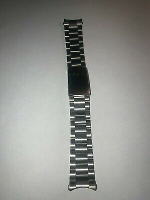 20MM Stainless Steel OMEGA PROFESIONAL  Metal Strap Bracelet Replacement Watch B • 93.82£