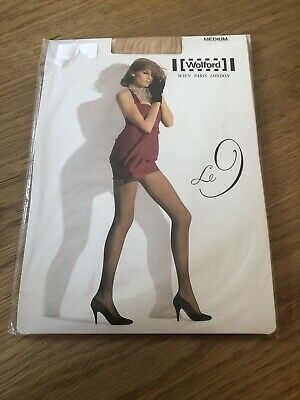 Wolford Le 9 Tights. Size Medium. Gobi. Brand New • 5£