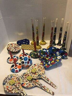 $ CDN34.26 • Buy Vintage Lot Of 21 Pressed Tin Litho-noisemakers, Horns- New Years, Etc.
