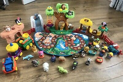 £125 • Buy Fisher Price Little People ABC Animal Zoo & Train Play Set Figures *ULTRA RARE*