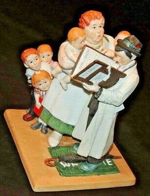 $ CDN78.85 • Buy Norman Rockwell  The Census Taker  Figurine AA20-7224 Vintage