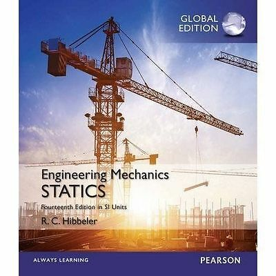 Engineering Mechanics: Statics 14th Ed. In SI Units By R. C. Hibbeler • 27.99£