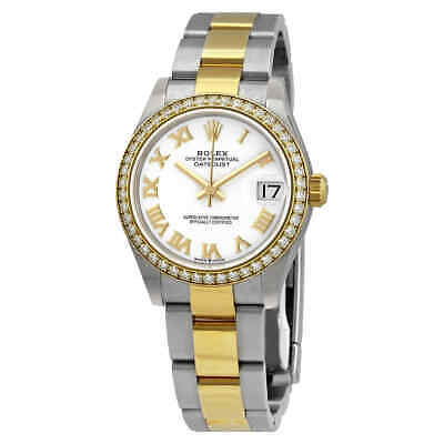 $ CDN22472.42 • Buy Rolex Datejust 31 White Dial Automatic Ladies Steel And 18kt Yellow Gold Oyster