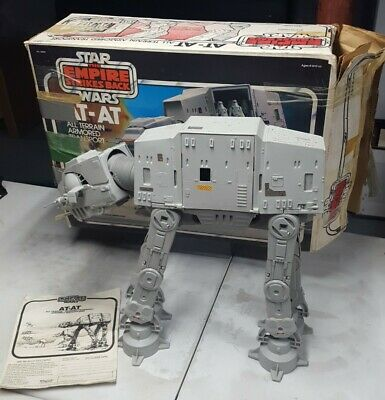 $ CDN329.02 • Buy Vintage Star Wars ATAT Vehicle 100% Complete Box 1980 ESB Kenner No Electronics
