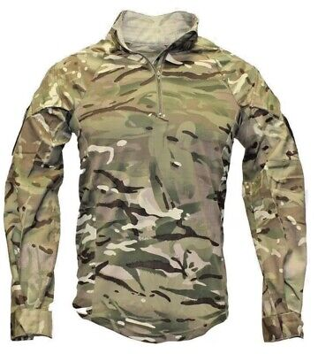 British Army Issue Full Mtp Ubacs - Brand New - Combat Shirt- Medium. 170/90 • 1.20£