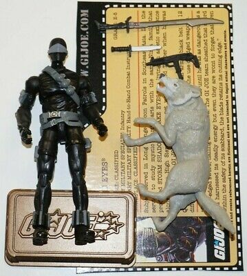 $ CDN45.87 • Buy GI JOE COBRA 25th HALL OF HEROES SNAKE EYES AND TIMBER LOOSE COMPLETE FILE CARD