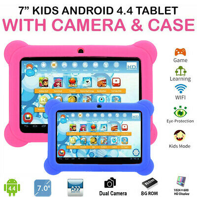 AU72.46 • Buy 7in HD Tablet PC Children Kid Tablet Computer Equipment 1+8G WIFI Sweat‑Proof