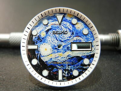 $ CDN59.25 • Buy New Modified Seiko  Starry Night  Dial & Minute Track Will Fit Skx031 Divers