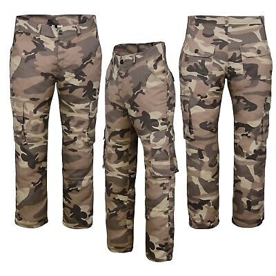 £15.99 • Buy Men's Casual Workwear Camouflage Camo Outdoor Army Norman Trousers Pants