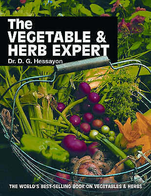 The Vegetable And Herb Expert: The World's Best-selling Book On Vegetables &... • 3.10£