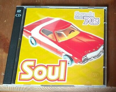 Time Life- Sounds Of The 70s: Soul- 2 CDs TL 469/27 • 38.98£