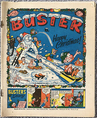 CHRISTMAS ISSUE! BUSTER Comic - 27th December 1975 - British IPC • 4.99£