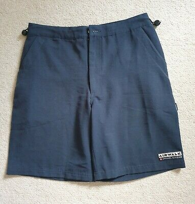 Men's Navy Lightweight Airwalk Shorts. Size: Small (S) In GREAT CONDITION!! • 7.99£