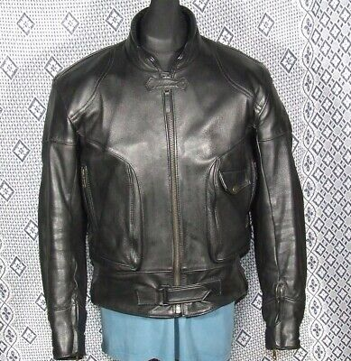 TRIUMPH Two Piece Motorcycle Leathers Jacket 46 Trousers 38 • 124.99£