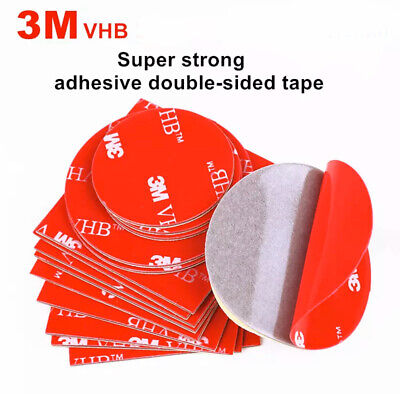 £3.99 • Buy 3M™ VHB™  Clear And Grey Acrylic Foam Double Sided Tape Square Round Sheets
