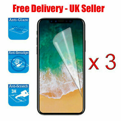 AU1.80 • Buy 3x SCREEN PROTECTOR COVER GUARD FILM FOR APPLE IPHONE X/XS NEW