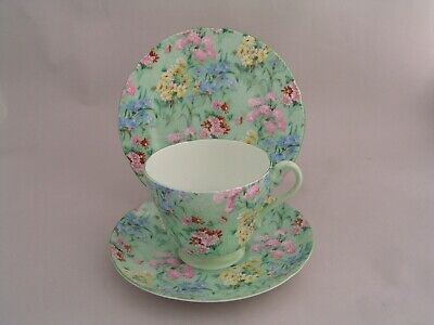 Shelley Melody Trio, Cup And Saucer And Side Plate. • 24.99£