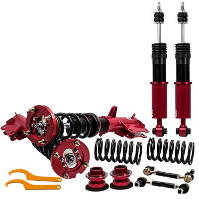 $303.88 • Buy Racing Coilovers 24-Step Adjustable Suspension Shock For Ford Mustang 2005-2014