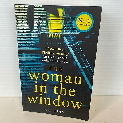 AU18.95 • Buy The Woman In The Window By A.J. Finn (Large Paperback Book)