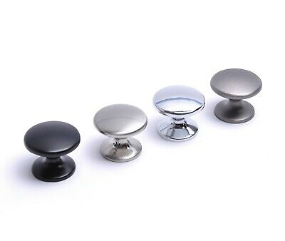 Kitchen Cupboard Drawer Door Handle Knob Various Colours • 1.59£