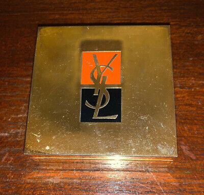 Vintage YSL Yves Saint Laurent Powder Foundation  Compact Taint 41811 Mirror • 6.71£