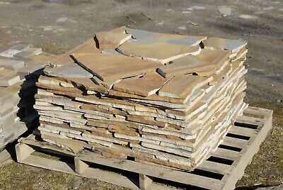 York Stone Natural Sandstone Crazy Paving Approx 18-20SQM Per Pallet • 298£