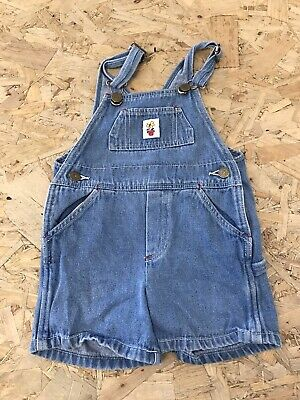 Girls Dungarees Shorts Age 3 To 4 Years Liberty Blue Denim D3381 • 7.99£