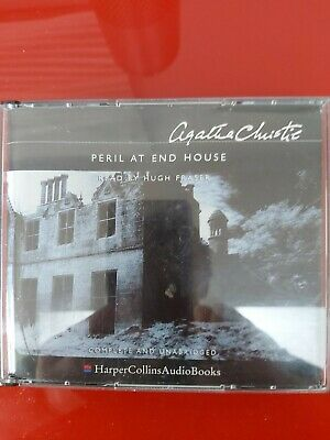 Adult Audio Cd Book Peril At End House By Agatha Christie  • 2£